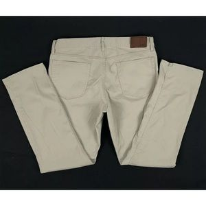 Polo Ralph Lauren Stretch Straight Fit Khaki Pants